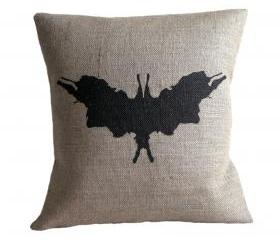 Rorschach Ink Blot 5 Cushion Cover
