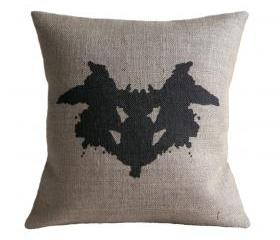 Rorschach Ink Blot 1 Cushion Cover