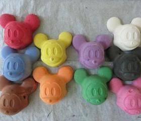 Micky Mouse Sidewalk Chalk Set of 10