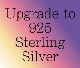Upgrade any set of Ear Cuffs from Silver Plated Wire to Solid Sterling Silver