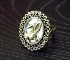 Rabbit Adjustable Ring
