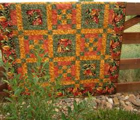 Golden Autumn Quilt