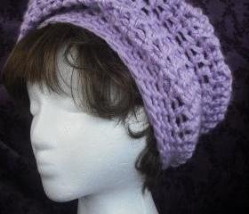 SALE Easy Super Slouch Hat Crochet PDF pattern, Beret crochet pattern, beanie crochet pattern