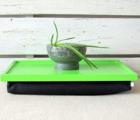 Natural Linnen Laptop Lap Desk or Breakfast Serving Pillow Tray- Table - Custom Order