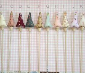 Little Fabric Chritmas Decorative Trees