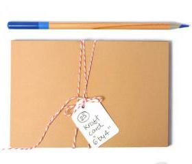 Kraft card paper 6 by 4 inch . ideal for making postcard size art . 25 Pack . painting . crafts . recycled . kids party . organization