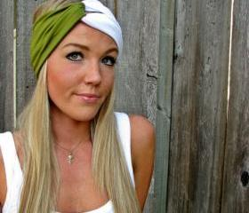 Vintage Turban Style Stretch Jersey Knit Headband - Build a Turban - Mix & Match