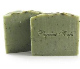 Mystic Mint Cold Process Soap Vegan Friendly