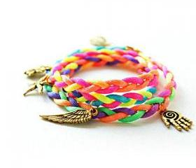 Mixed Woven Friendship Bracelet