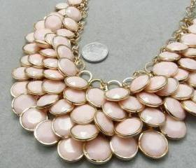 bubble statement necklace Summer Jewelry,Beaded Jewelry