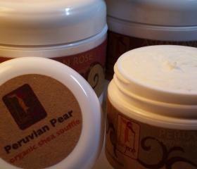 4oz. PEAR Organic Shea Souffle' Whipped Shea Butter