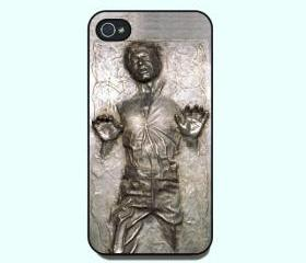 Iphone 4 Case- Han Solo frozen in Carbonite star war,iphone 4S Case,personalized Iphone 4 Case In Plastic Or Silicone