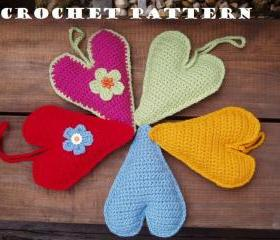 Crochet Heart, Crochet Pattern PDF,Easy, Great for Beginners, Pattern No. 21