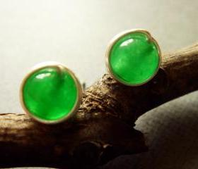 Forest Green Onyx 925 Studs