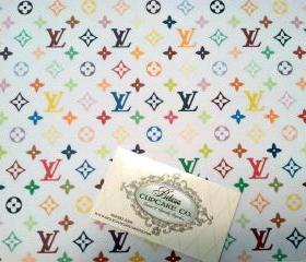 Designer Inspired Louis Vuitton Edible Image, Make A Cake Purse, Shoe or Any Cake Design