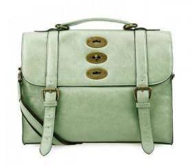 Vintage Cambridge Satchel - Green