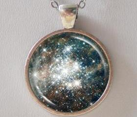 Hubble Image Necklace -30 Doradus: Hodge 301 - Galaxy Series