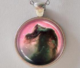 Horsehead Nebulae Necklace -Galaxy Series