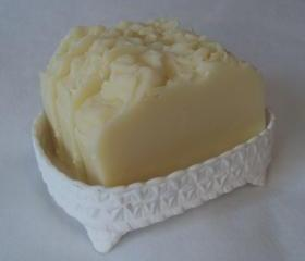 Tea Tree Shampoo and Body Soap Slice / vegan / cold process soap