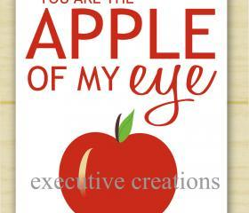Apple of my eye print (set of 10)