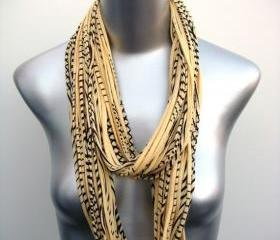 Fashion Jewelry Girl Fabric Shabby Chic Autumn Yellow Scarf Neck Preppy Necklaces Women Men Man Scarfs Accessories Jewelry Boho Bohemian