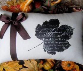 Autumn Pillow, Fall, Leaf, Autumn Decoration