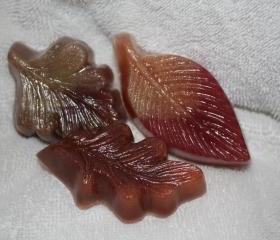 Autumn Leaf Guest Soaps
