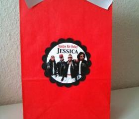 10 Mindless Behavior Treat bags loot bags party favors