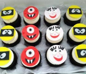 Fondant Yo Gabba-Gabba (INSPIRED) Cupcake Toppers 