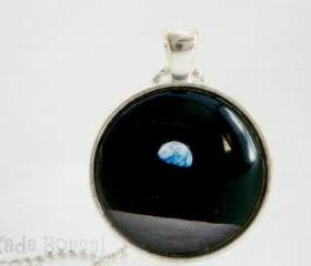 Galaxy X-handmade glass pendant
