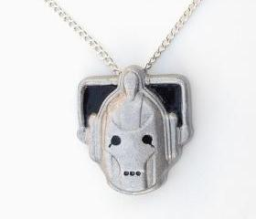 Cyberman Pendant and Necklace