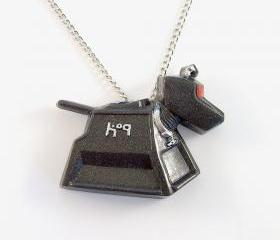 K-9 Robot Dog Pendant and Necklace