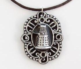 Dalek Cameo Pendant and Necklace