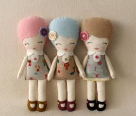 Little Miss Camilla Doll pdf Pattern