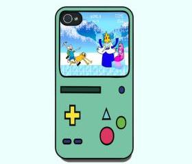 Adventure time Beemo BMO Iphone 4s and Iphone 4 Case, Cover