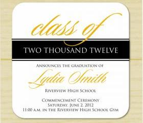 Class of 2012 Graduation Announcement (set of 10)