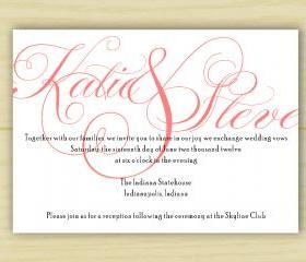 Katie Invitation (set 0f 10)