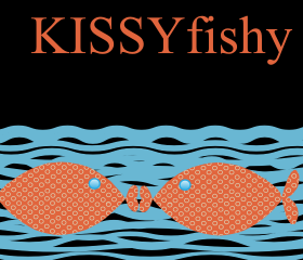 Kissy Fishy Valentine Invitation (set of 10)
