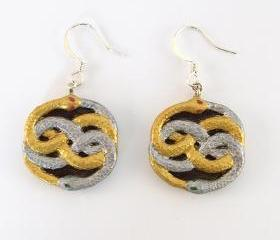 Mini Neverending Story Auryn Earrings