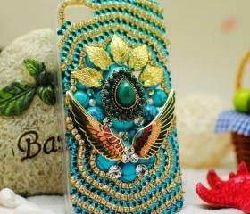 New design custom unique handmade vintage bohemia style iPhone 4 case , iPhone 4s case, cool iPhone 4 case, iPhone 4 hard Case Cover