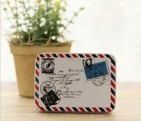 Air mail tin/ can/ box