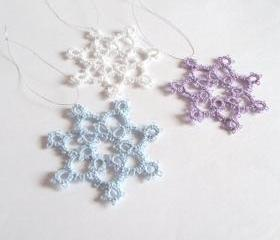 Set of Three Tree Decorations