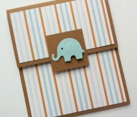 Baby Boy Gift Card Holder