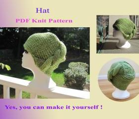 Knit Pattern - Hat (20VC2012)