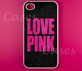 Iphone 4 Case - Love Pink Iphone Case,Iphone 4s Case