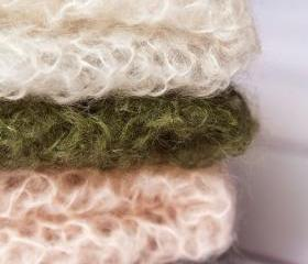 Sale -- Super Fuzzy Photography Wrap -- Your Choice of Color