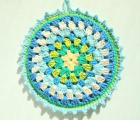 Granny Mandala Potholder