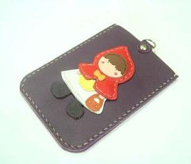 Selina the Red Riding Hood Card Holder ( Purple )