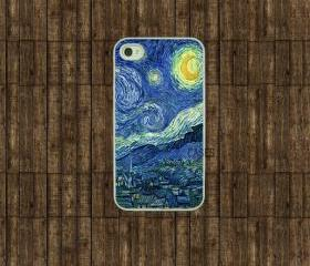 Iphone 4 case - starry nIght iphone 4s case, iphone case