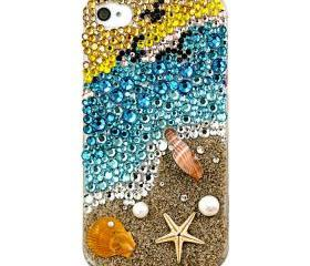 Original Beautiful Coast Crystal Case for iPhone